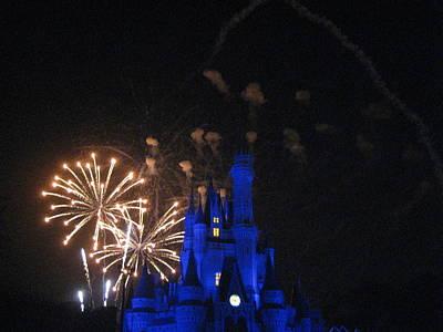 Walt Disney World Resort - Magic Kingdom - 121224 Art Print by DC Photographer