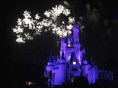 Walt Disney World Resort - Magic Kingdom - 121244 Art Print by DC Photographer