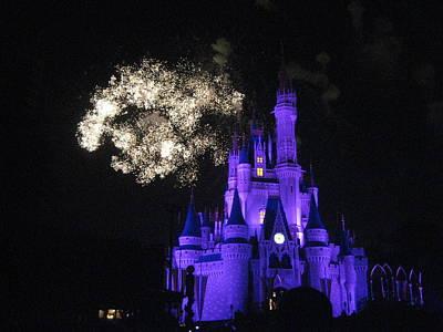 Walt Disney World Resort - Magic Kingdom - 121248 Print by DC Photographer