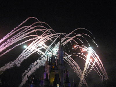 Walt Disney World Resort - Magic Kingdom - 121263 Print by DC Photographer