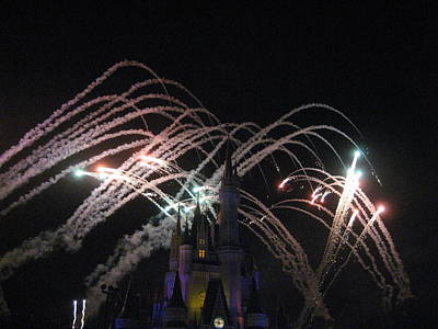 Walt Disney World Resort - Magic Kingdom - 121264 Art Print