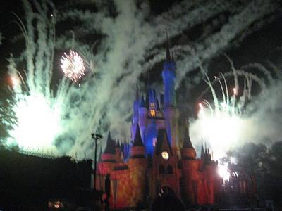 Walt Disney World Resort - Magic Kingdom - 121274 Art Print
