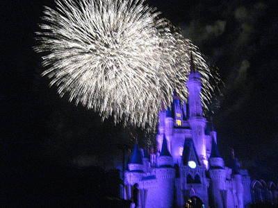 Walt Disney World Resort - Magic Kingdom - 121280 Print by DC Photographer