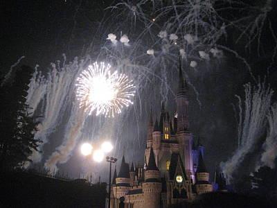 Walt Disney World Resort - Magic Kingdom - 121285 Print by DC Photographer