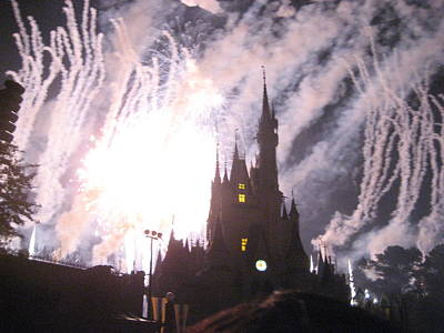 Walt Disney World Resort - Magic Kingdom - 121290 Art Print by DC Photographer