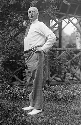 Chauncey Photograph - Walter Camp (1859-1925) by Granger