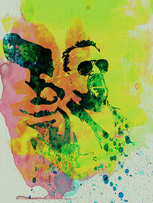 Big Lebowski Painting - Walter by Naxart Studio