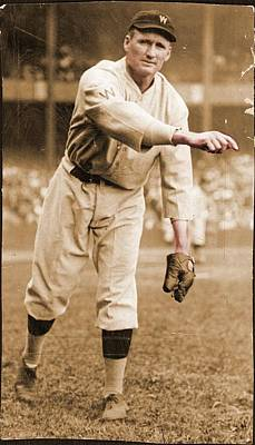 Ball Field Photograph - Walter Johnson Poster by Gianfranco Weiss
