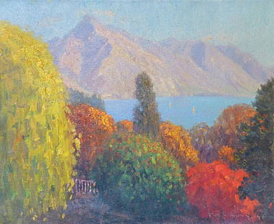 Painting - Walter Peak Queenstown Nz by Terry Perham