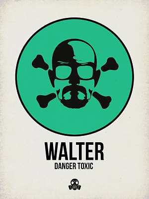 Series Digital Art - Walter Poster 1 by Naxart Studio