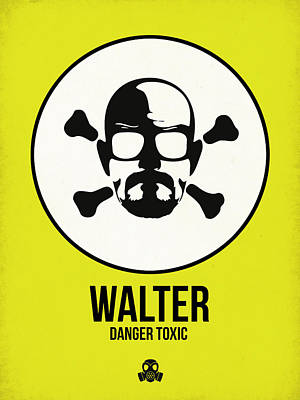 Superhero Mixed Media - Walter Poster 2 by Naxart Studio