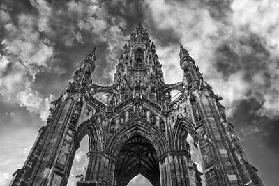 Photograph - Walter Scott Monument by Jason Politte