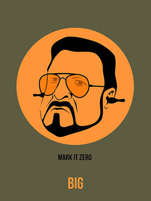 Show Painting - Walter Sobchak Poster 1 by Naxart Studio