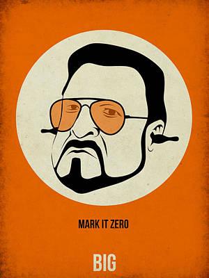 Lebowski Painting - Walter Sobchak Poster by Naxart Studio