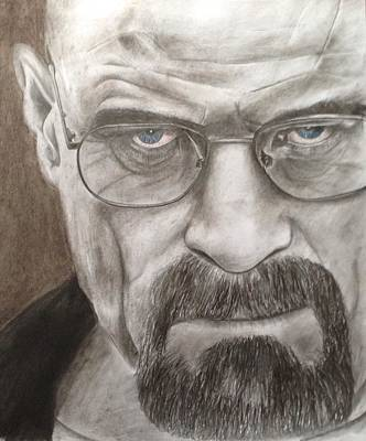 Walter White Art Print by Jamie Blackbourn
