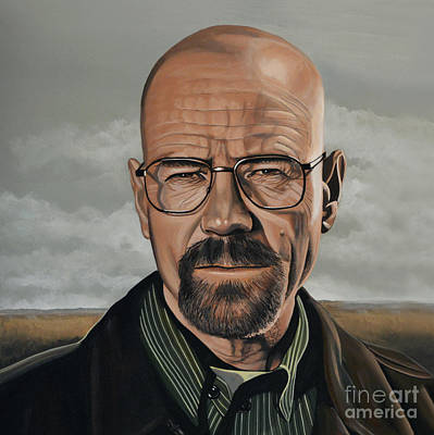 Golden Globe Painting - Walter White by Paul Meijering