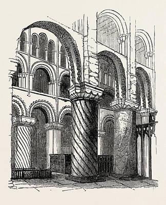 Waltham Abbey Art Print by English School
