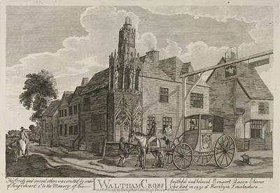Waltham Cross Art Print by British Library