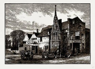 Waltham Cross, Uk Art Print by Litz Collection