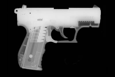 357 Photograph - Walther P22 Reverse by Ray Gunz