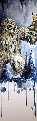 Painting - Wampa by David Kraig
