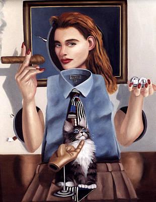 Surrealism Royalty Free Images - Wana Bee Royalty-Free Image by Anthony Falbo