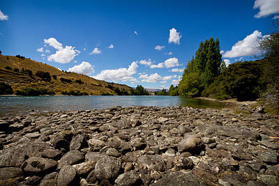 Photograph - Wanaka Outlet by Jenny Setchell