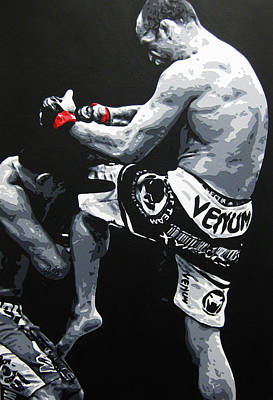 Painting - Wand V Cung Le by Geo Thomson