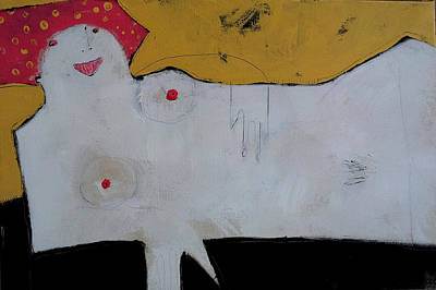 Outsider Art Painting - Wanderer No. 12 by Mark M  Mellon