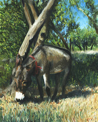 Wandering Donkey Original by Joe Maracic