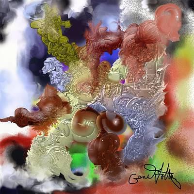 Painting - Wandering by Eugene Foltuz