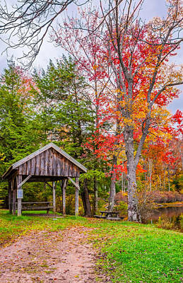 Fall Color Photograph - Wandering In The Endless Mountains 3 by Steve Harrington