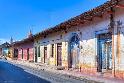 Photograph - Wandering The Colorful Streets Of Granada by Mark E Tisdale