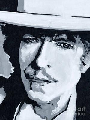 Wandering Troubadour - Bob Dylan Original by Tanya Filichkin