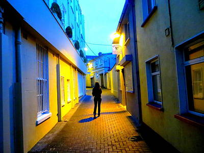Ally Photograph - Wandering Woman by Joshua Gooding