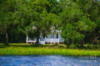 Digital Art - Wando River Plantation by Dale Powell