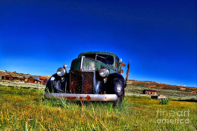 Photograph - Wanna Ride - Bodie Ghost Town By Diana Sainz by Diana Raquel Sainz