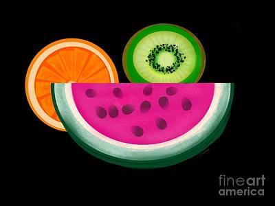 Want A Slice? Art Print by Christine Fournier