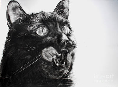 Wanting Art Print by Valerie  Bruzzi