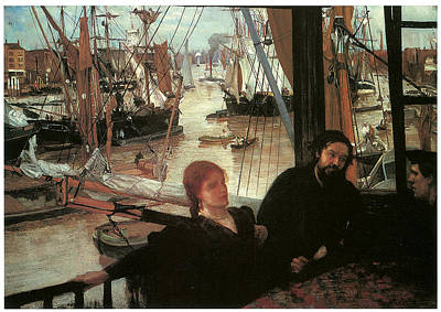 Whistler Painting - Wapping by James Abbott McNeill Whistler