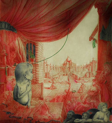 War And Hunger Art Print