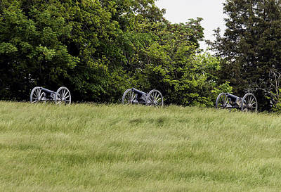 Photograph - War Cannons by David Lester