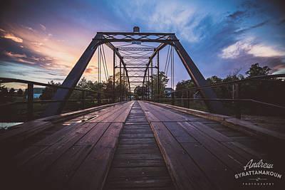 War Eagle Bridge Original by Andrew Syrattanakoun