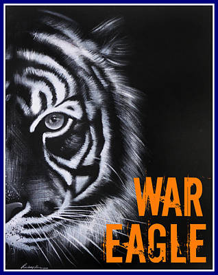 War Eagle Art Print by Lindsay Pace