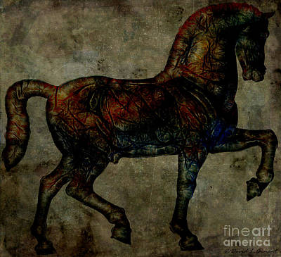 Photograph - War Horse by David Arment