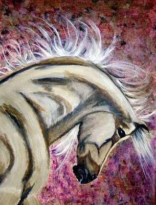 Painting - War Horse by Denise Hills