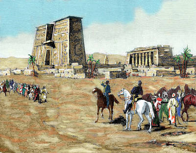 War In Egypt The Emissaries Of Arabi Art Print
