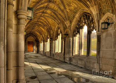 Photograph - War Memorial Cornell University by Brad Marzolf Photography