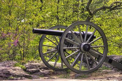 War Thunder - 5th United States Artillery Hazletts Battery - Little Round Top Gettysburg Spring Art Print