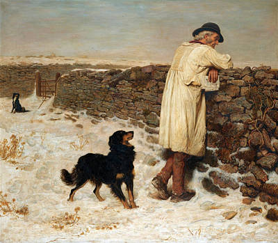 Briton Riviere Painting - War Time by Briton Riviere